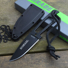 Schrade Extreme Survival 7Cr17 Fixed Blade Survival Neck Knife SCHF5N