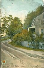 Slatington PA On Line of L.V. R.R., Old Farm House 1920