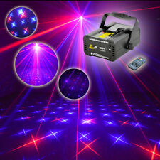 SUNY Remote 200mw RB BLUE Multi-Patterns Laser Stage lighting Party Xmas Light