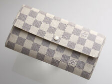 G7023M Authentic Louis Vuitton Azur Sarah Long Wallet