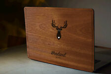"Echt Holz Macbook Pro RETINA 15"" Cover Schutz Case Sticker Decal Skin Wrap Hülle"