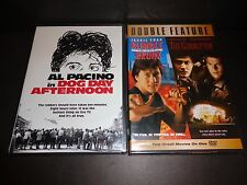 DOG DAY AFTERNOON w/RUMBLE IN THE BRONX & THE CORRUPTOR-2 DVDs-Al Pacino, J Chan