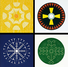 Susan Point Rare Sold Out Ltd Ed 12/101 Four Prints Circles in Time V-VIII 2008