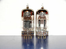 2 x 12AT7 RCA Tubes *Black Plates*D-Getter*
