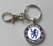 Chelsea Logo Keyring With Clasp