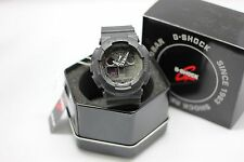 New Casio G-SHOCK Black Analog Digital Men's Sport Watch | GA100-1A1 | AUTHENTIC