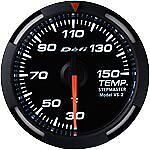 Defi Racer Gauge 52mm Temperature Meter DF06706 White