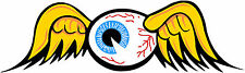 "36"" Flying Eyeball Vintage Drag Racing window sticker decal Von Dutch NHRA"