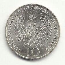Germany, Federal Republic - 10 Mark - 1972 G - KM# 135  - 0.6250 Silver