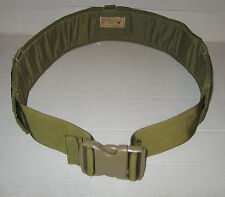 NEW Military MOLLE Eagle Industries Padded War Belt Khaki Sz32