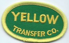 Yellow Transfer Co truck driver patch 1-3/4 X 2-3/4