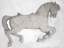 "Unpainted Full size Carousel Horse 58"" PTC Jumper Sale!"