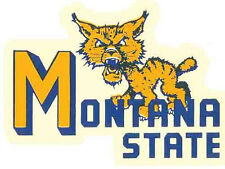 Montana State University   MT  (College)  Vintage-Looking  Travel Decal Sticker