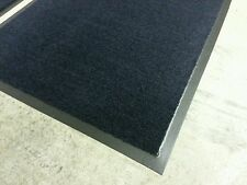"2-New 24""x36"" front entry door mats carpet rug indoor outdoor commercial navy"