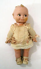 """Antique 1940s KEWPIE DOLL Composition Head and Body Original Clothes 12"""" Tall"""