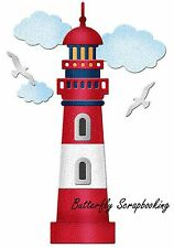 LIGHTHOUSE Die Craft Steel Die Cutting Die Cottage Cutz CC-113 New