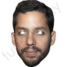 David Blaine Magician Celebrity Card Mask - All Our Masks Are Pre-Cut!