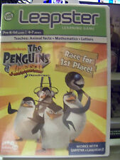LEAPFROG LEAPSTER 2 The Penguins of Madagascar K-1st 4-7 years