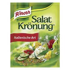 Knorr Salat Kronung (kroenung) Salad dressing mix: ITALIAN (5 packets)