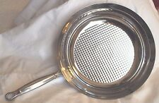 "Ruffoni Stainless Steel/Copper Vitruvius 11.5"" Fry Pan"