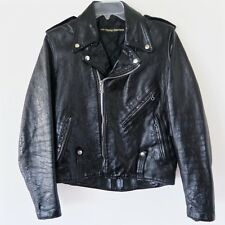 VINTAGE HARLEY DAVIDSON AMF LEATHER JACKET 1970s SIZE 36 BIKER CYCLE CHAMP