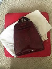 Brand New Burgundy Cartier 150th Anniversary Backpack Purse
