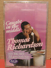 Thomas Richardson - Caught in the Middle Cassette BRAND NEW rare INDIE SOUL
