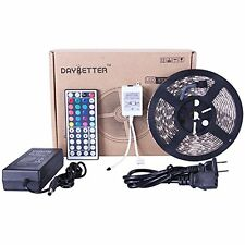 LED Light Strip Christmas Decoration 300 LED 5m Color Changing RGB IR Remote New