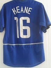 Manchester united 2003-2004 away keane football chemise taille m/40981