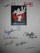 Ghostbusters 2 Signed Script Harold Ramis Murray Aykroyd Weaver Moranis reprint