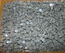 LEGO LOT OF 100 NEW 1 X 1 DARK Bluish GREY BRICKS