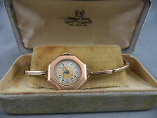 Antique Meric Watch for COOLEY BROS Barrington St Halifax NS Original Box GF