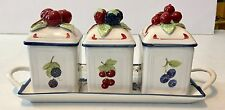 Villeroy & Boch COTTAGE Jam Jelly Set & Tray 7132770