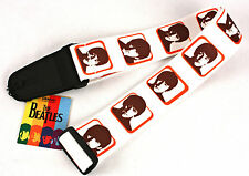 PLANET WAVES D'Addario Beatles Hard Day's Night Guitar Strap Vinyl NEW & RARE