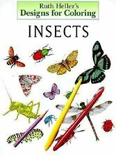 Designs for Coloring: Insects and Spiders