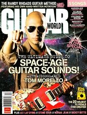 Guitar World Magazine December 2006 Tom Morello, Randy Rhoads, Pink Floyd