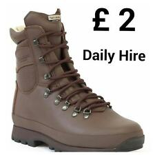ARMY ISSUE BOOTS FOR HIRE - ALTBERG - £40 WILL BE REFUNDED ON RETURN - ALL SIZES