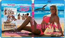 BIKINI BEACH BABES #4 BLU RAY 3D + BLU RAY NEW! MODEL, SEXY HOT FUN, SWIMSUIT