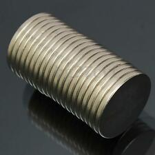 Hot 20Pcs N52 Grade 20mm x 2mm Disc Rare Earth Neodymium Super Strong Magnets