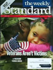 2014 The Weekly Standard Magazine: Veterans Aren't Victims/Ready for Hillary