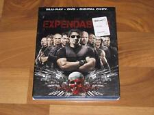 The Expendables (Blu-ray/DVD, 2010, 3-Disc Set) with Slip Cover