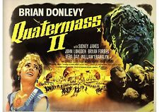 Quatermass 2 - Brian Donlevy - Hammer Horror - A4 Laminated Mini Poster