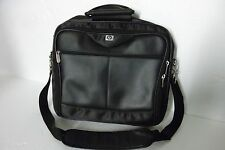 "HP Ultra-Portable 16"" Executive Leather/Nylon Nbkt Computer Carrying Case PA845A"