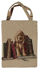 Gobelin Tasche Einkaufstasche Tragetasche Beutel Stofftasche  1 Hundewelpe