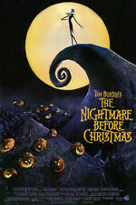 #Z005The Nightmare Before Christmas Movie Poster 24X36