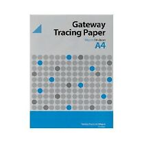 Gateway Layout Tracing Draft Technical Drawing Paper Pad 63gsm 50 A4 Sheets