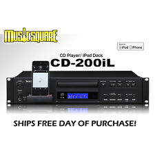 Tascam CD-200iL CD200IL 30 Pin/Lightning iOS Dock w/ FREE SAME DAY SHIPPING!