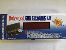 DAC Universal Brass Gun Cleaning Kit Wooden Box 17 PC DACUGC66W