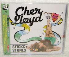 Cher Lloyd Sticks+Stones Taiwan CD w/OBI