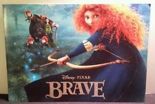Disney Store BRAVE Motion Picture Lithograph Set of 4 Full Color Prints w Folder